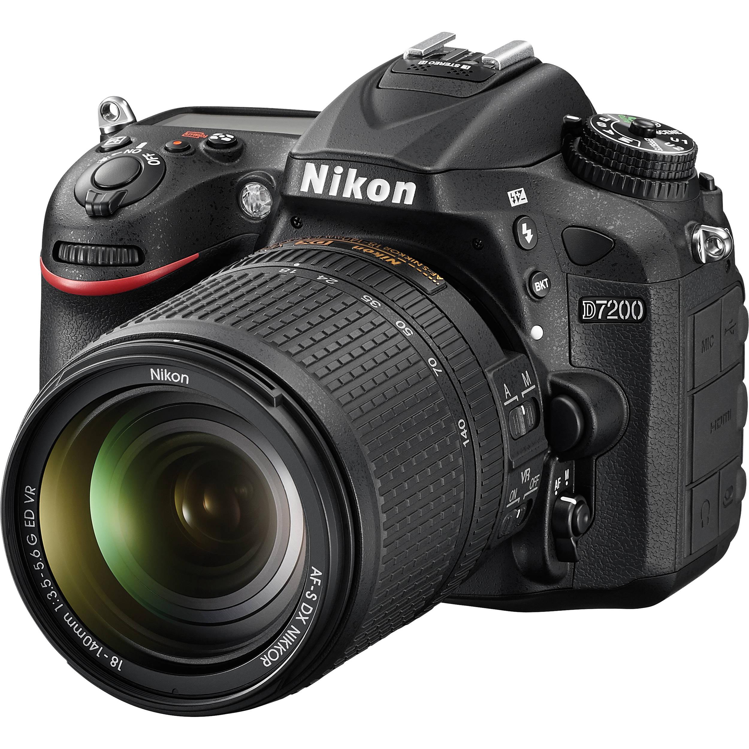 Nikon D7200 Kit Mit Af S Vr Dx 18 140mm Schwarz Dostal Rudolf